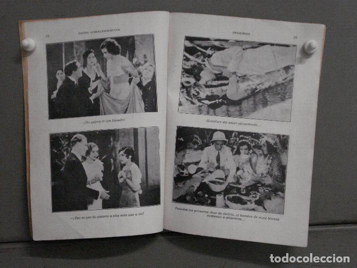 Cine: ABH85 PROHIBIDO CONCHITA MONTENEGRO NOVELA CON FOTOS EDICIONES BISTAGNE - Foto 2 - 287313133