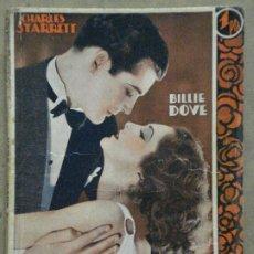 Cine: ABH91 LA EDAD DE AMAR BILLIE DOVE CHARLES STARRETT NOVELA CON FOTOS EDICIONES BISTAGNE. Lote 287318953