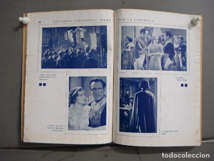 Cine: ABI32 POR LA LIBERTAD LUIS TRENKER LUISE ULRICH NOVELA FOTOS EDITORIAL ALAS - Foto 2 - 287343628