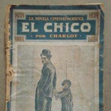 Cinéma: ABI39 EL CHICO CHARLES CHAPLIN NOVELA CON FOTOS PUBLICACIONES RAFOLS. Lote 287346398