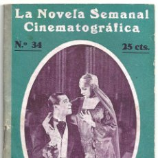 Cine: ABI53 MUJERES FRIVOLAS RAMON NOVARRO BARBARA LAMARR NOVELA CON FOTOS SEMANAL CINEMATOGRAFICA. Lote 287352623