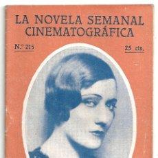 Cine: ABI55 EL ADMIRABLE CRICHTON GLORIA SWANSON NOVELA CON FOTOS NOVELA SEMANAL CINEMATOGRAFICA. Lote 287352738