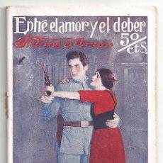 Cinéma: ABI56 ENTRE EL AMOR Y EL DEBER RAMON NOVARRO BARBARA LA MARR NOVELA CON FOTOS BIBLIOTECA FILMS. Lote 287354288