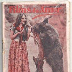 Cine: ABI63 VENGANZA DOLORES DEL RIO LEROY MANSON NOVELA CON FOTOS BIBLIOTECA FILMS - FILMS DE AMOR. Lote 287356623