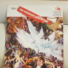 Cine: IMPRESIONANTE PRESSBOOKS ORIGINAL USA DE LA PELÍCULA LA AVENTURA DEL POSEIDÓN DE GRAN TAMAÑO. Lote 287396453
