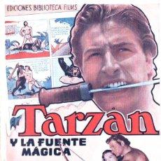 Cine: TARZAN Y LA FUENTE MÁGICA (ALAS, C. 1949). Lote 288706623