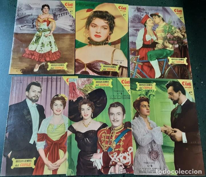 AQUELLOS TIEMPOS DEL CUPLÉ, COLECCIÓN COMPLETA DE LOS 6 FASCÍCULOS, LILIAN DE CELIS AÑOS 50 (Cine - Foto-Films y Cine-Novelas)