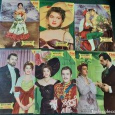 Cine: AQUELLOS TIEMPOS DEL CUPLÉ, COLECCIÓN COMPLETA DE LOS 6 FASCÍCULOS, LILIAN DE CELIS AÑOS 50. Lote 289364383