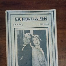 Cine: EL ETERNO DON JUAN. LA NOVELA FILM. Nº41. BARCELONA, AÑOS 20. Lote 289427678