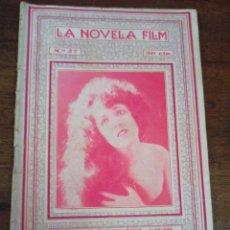 Cine: EL MARTIRIO DEL VIVIR. LA NOVELA FILM. Nº27. BARCELONA, AÑOS 20. Lote 289435033