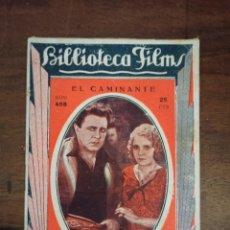 Cine: EL CAMINANTE. BIBLIOTECA FILMS. Nº498. AÑOS 30. Lote 289443823