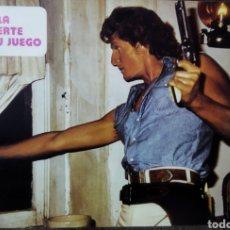 Cine: FOTO FILM PROMOCIONAL PELÍCULA LA MUERTE ERA SU JUEGO 1978. Lote 295887738