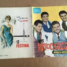 Cine: LOS INTOCABLES BIOGRAFIA ILUSTRADA EDICIONES ESTE 1964. Lote 296727218
