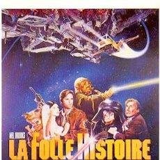 Cine: LA LOCA HISTORIA DEL ESPACIO DE MEL BROOKS. Lote 91794