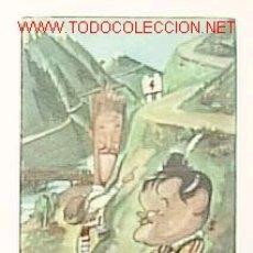 Cine: POSTAL CARICATURA DE ABBOTT AND COSTELLO. Lote 9375727