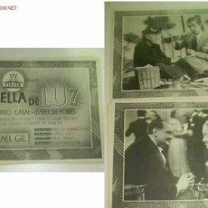 Cine: LOTE DE 14 FOTOGRAMAS DE LA PELICULA HUELLA DE LUZ.PRODUCCION:CIFESA. Lote 8386696