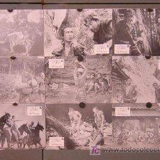 Cine: T00277 LA FORTALEZA ESCONDIDA AKIRA KUROSAWA SET COMPLETO 9 FOTOCROMOS ORIGINAL ESTRENO. Lote 10889612