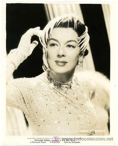 FOTO 43 FOTOGRAFIA ROSALIND RUSSELL EN THE GIRL RUSH, GRANDE (Cine - Fotos y Postales de Actores y Actrices)