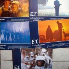 Cine: FOTOCROMOS ORIGINALES DE LA PELICULA E.T. EL EXTRATERRESTRE. Lote 27375424