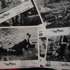 Cine: 8 FOTOS TRAILER, LOS PAJAROS (THE BIRDS) . ALFRED HITCHCOCK. Lote 27136945