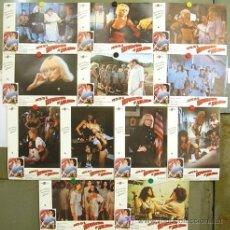 Cine: T01885 MOTIN EN EL REFORMATORIO DE MUJERES SYBIL DANNING SET COMPLETO 12 FOTOCROMOS ORIGINAL ESTRENO. Lote 21347597