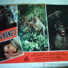 Cine: KING KONG 2 LINDA HAMILTON JUEGO COMPLETO. Lote 27574436