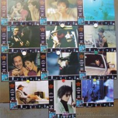Cine: T03314 NIKITA LUC BESSON ANNE PARILLAUD SET COMPLETO 12 FOTOCROMOS ORIGINAL ESTRENO. Lote 5378557