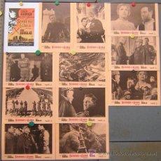 Cine: T03351 SENDEROS DE GLORIA STANLEY KUBRICK KIRK DOUGLAS SET COMPLETO 12 FOTOCROMOS ORIGINAL ESTRENO. Lote 169997753