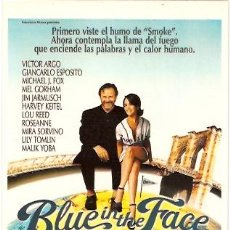 Cine: BLUE IN THE FACE. POSTAL. Lote 5583277