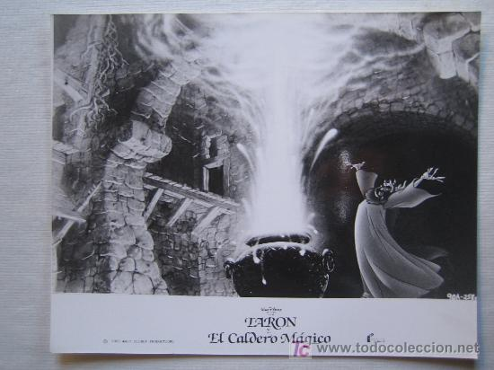 TARON Y EL CALDERO MAGICO - DISNEY (Cine - Fotos, Fotocromos y Postales de Películas)