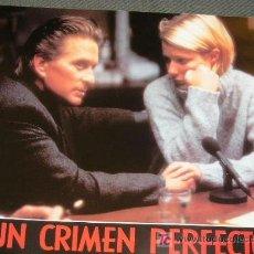 Cine: UN CRIMEN PERFECTO - MICHAEL DOUGLAS, GWYNETH PALTROW // 6 FOTOCROMOS . Lote 17559992