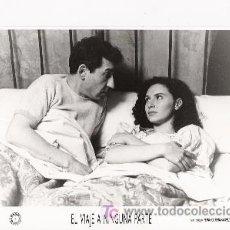 Cine: JOSE SACRISTAN Y LAURA DEL SOL, FOTO ORIGINAL EN BLANCO Y NEGRO, 34 X 18 APROXIMADAMENTE, . Lote 6733465