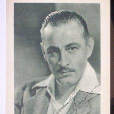 Cine: JOHN BARRYMORE. FOTO PROMOCIONAL METRO GOLDWYN MAYER 28 X 19 CM. ORIGINAL AÑOS 30. Lote 6714272