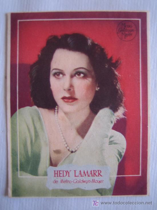 HEDY LAMARR (Cine - Fotos y Postales de Actores y Actrices)