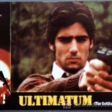 Cine: ULTIMATUM-COLECCION 11 FOTOCROMOS DE ESTRENO-1982-KEN WAHL-KLAUS KINSKY. Lote 9703670