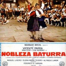 Cine: NOBLEZA BATURRA ( 18 FOTOCROMOS ORIGINALES EN COLOR) VICENTE PARRA-IRAN EORY-MIGUEL LIGERO. Lote 27061924