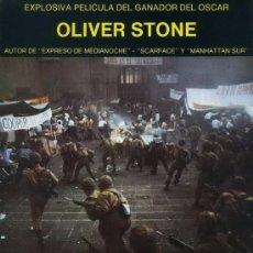 Cine: 'SALVADOR', DE OLIVER STONE. FICHA TAMAÑO POSTAL.. Lote 8589111