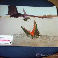 Cine: FANTASIA WALT DISNEY FOTOCROMO ORIGINAL REPOSICION 1976. Lote 9090162
