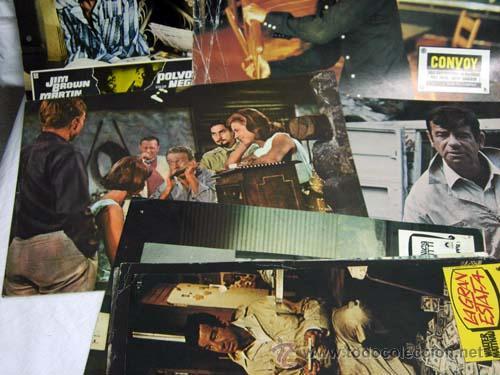 Cine: 10 fotocromos cine varias películas ver títulos años 70 - Foto 2 - 9309783