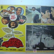Cine: CUPIDO MOTORIZADO-HERBIE - ORIGINAL LOBBY CARD MEXICANO - DEAN JONES, MICHELE LEE. Lote 9657797