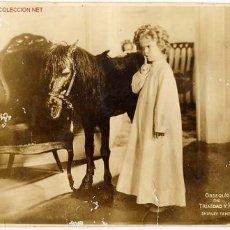 Cine: FOTO GRANDE SHIRLEY TEMPLE , OBSEQUIO DE TABACOS TRINIDAD HERMANOS. Lote 16111307