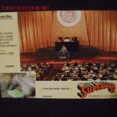 Cine: FOTOCROMO ORIGINAL DE 'SUPERMÁN IV', CON CHRISTOPHER REEVE.. Lote 21339722