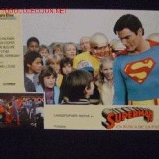Cine: FOTOCROMO ORIGINAL DE 'SUPERMÁN IV', CON CHRISTOPHER REEVE.. Lote 21339723