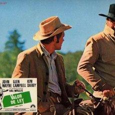 Cine: JOHN WAYNE - VALOR DE LEY - GLENN CAMPBELL - HENRY HATHAWAY. Lote 2717800
