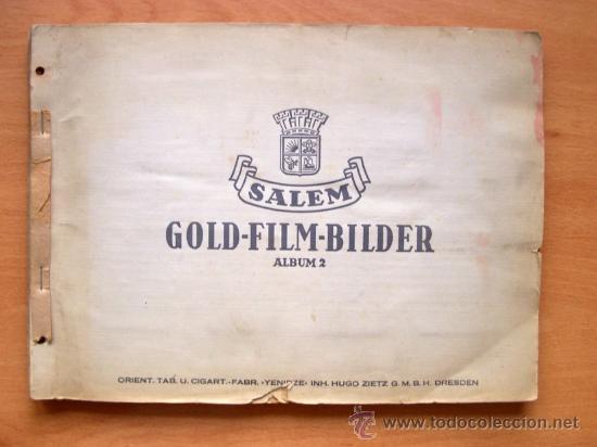 ALBUM DE CROMOS ESTRELLAS DE CINE DE LOS AÑOS 30 - ALBUN ALEMAN GOLD-FILM-BILDER ALBUM 2 (Cine - Fotos y Postales de Actores y Actrices)