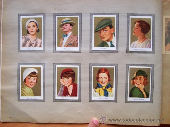 Cine: ALBUM DE CROMOS ESTRELLAS DE CINE DE LOS AÑOS 30 - ALBUN ALEMAN GOLD-FILM-BILDER ALBUM 2 - Foto 2 - 112400279