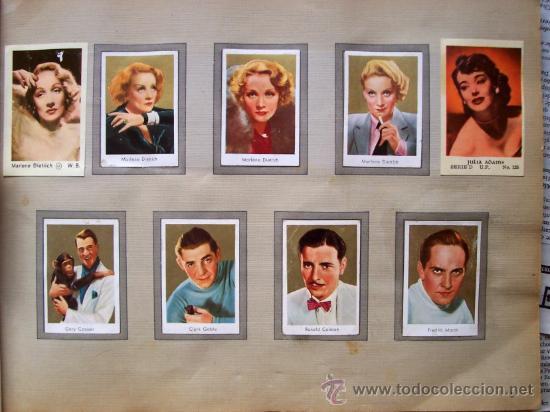 Cine: ALBUM DE CROMOS ESTRELLAS DE CINE DE LOS AÑOS 30 - ALBUN ALEMAN GOLD-FILM-BILDER ALBUM 2 - Foto 3 - 112400279