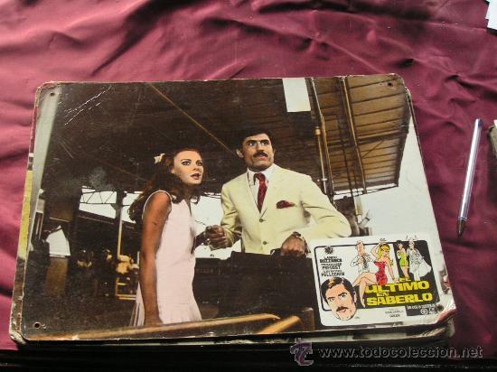 ULTIMO EN SABERLO (Cine - Fotos, Fotocromos y Postales de Películas)