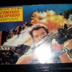 Cine: COMANDO LEOPARDO. JUEGO COMPLETO DE 12 FOTOCROMOS ORIGINALES.. Lote 10200088