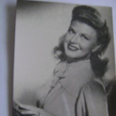 Cine: GINGER ROGERS-43088. Lote 16480298